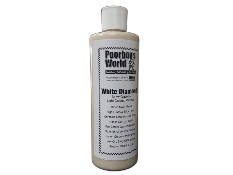 Poorboys White Diamond Glaze Review